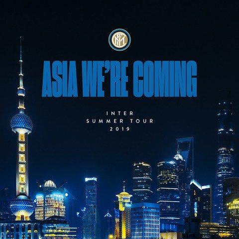 🛫 | 🔜 ASIA 🌏  ⚫️🔵 #InterOnTour