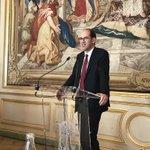 Image for the Tweet beginning: Au déjeuner de l'#ujarf, intervention
