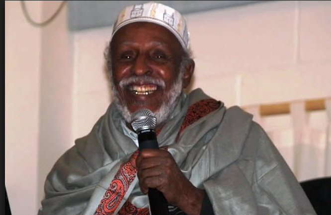 """Poetry is a weapon that we use in both war and peace. When we want to tell somebody something, poetry is the best way to convince them"" Hadraawi  On #WorldPoetryDay, tag your favorite #SomaliPoet"