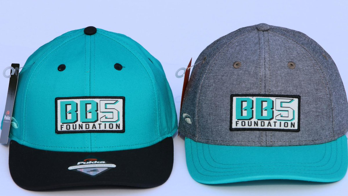 Flash Sale! Grab your Limited Edition #BB5Foundation Hat, available while supplies last!   Order Here: https://t.co/iwH6llObcL  Hats are available in teal/black or grey/teal for $25 per hat, shipping included (U.S. only). Proceeds go to support our efforts in the community. https://t.co/PG0QLUggPC