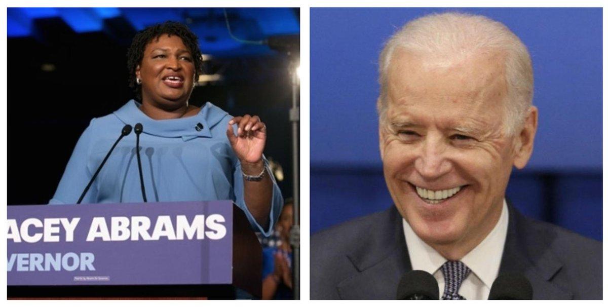 Biden Debates Explosive Launch Naming Stacey Abrams as His Running Mate dlvr.it/R1Gb1Z
