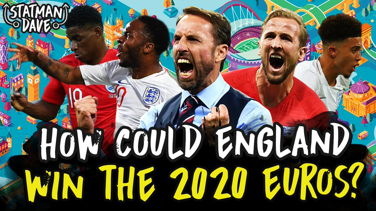 With the International Break here we're taking a look at How Gareth Southgate Should Set Up England To Win Euro 2020!  Video is out at 5pm!  SUBSCRIBE ▶️http://bit.ly/StatmanDaveSub