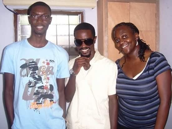 That #ThrowbackThursday shot for the gods @sarkodie and Amitta<br>http://pic.twitter.com/5VbYCERzNm