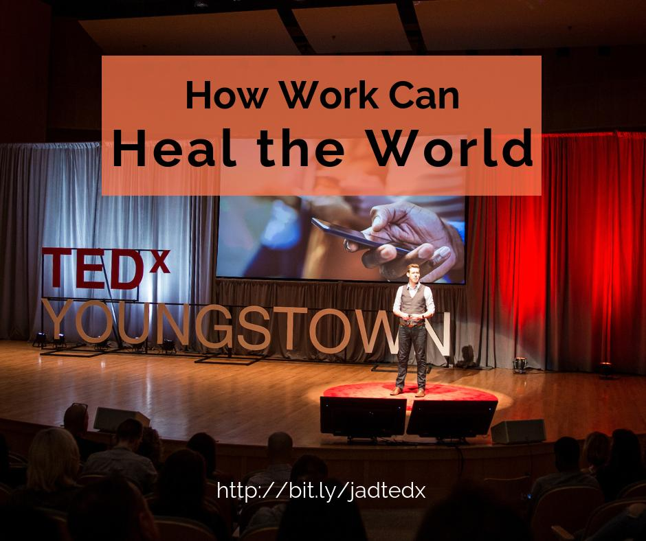 "test Twitter Media - Watch our ""How Work Can Heal the World"" TEDx talk! https://t.co/u9GAC1l2PX https://t.co/zPczhXzSOr"