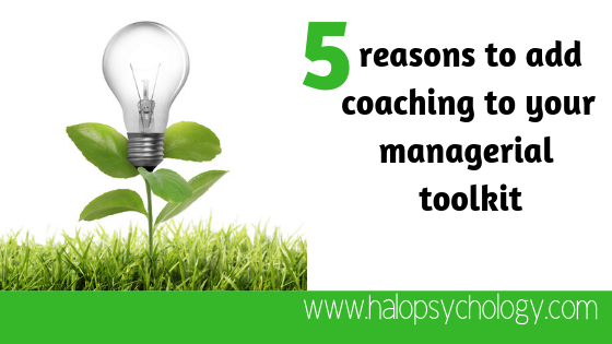 5 reasons you should use #coaching as part of your #Management approach https://buff.ly/2WTmEg8  #LeadershipDevelopment