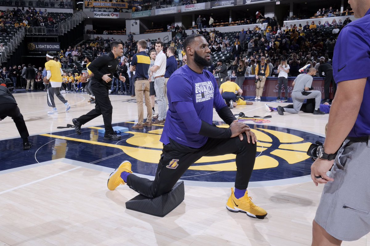 If you've been sitting for hours at a time, taking 5 to 10 minutes to stand up and do a series of stretches will not only get you out of your seat but will also relieve tension. To learn more about how you can Be FIT Like a Pro, visit http://fit.nba.com. #NBAFIT
