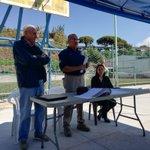 Image for the Tweet beginning: Conversatorio entre habitantes de la