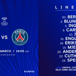 Here is how the Blues line up tonight! 📝  #CHEPSG