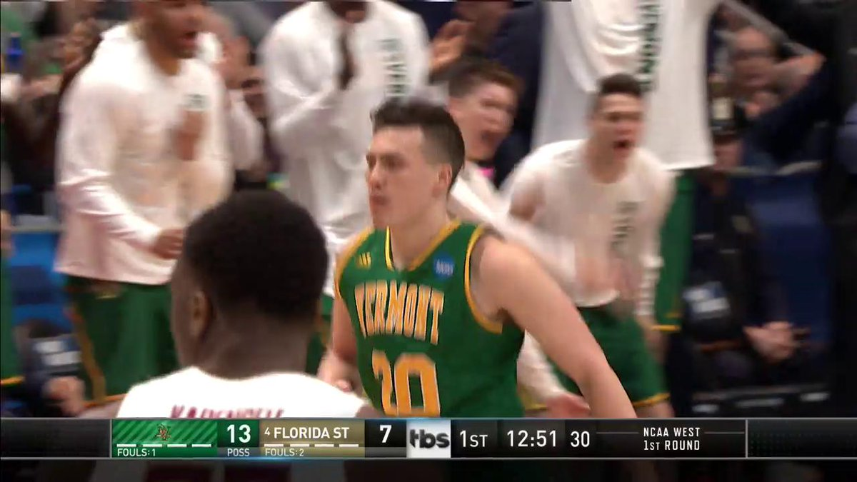 Vermont's Duncan brothers become first family to have 3 players on the court in March Madness game