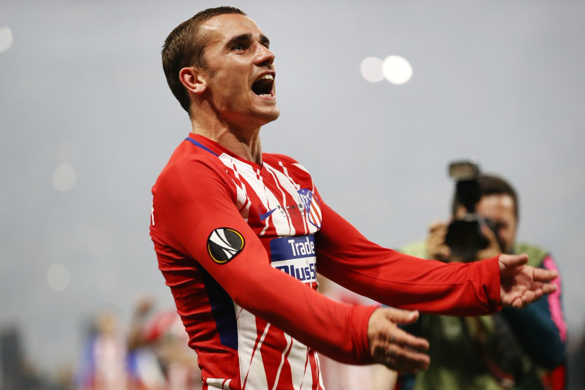 2018 #UEL champ @AntoGriezmann is 28 today!   Which trophy will he win next?<br>http://pic.twitter.com/bNYMfNVtFe