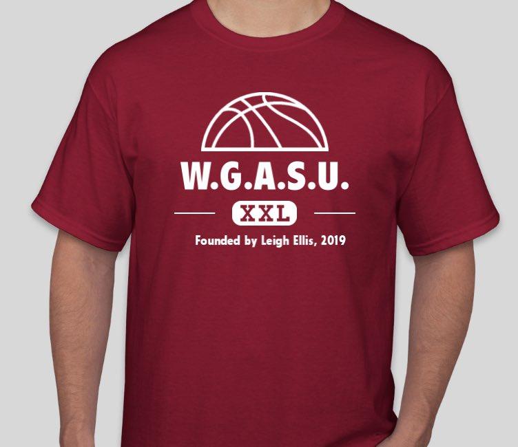 No #TheStarters until Monday. Let's see your best WGASU gear! (via @troylikesstuff)