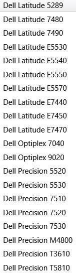 Dell Precision 7520 Issues