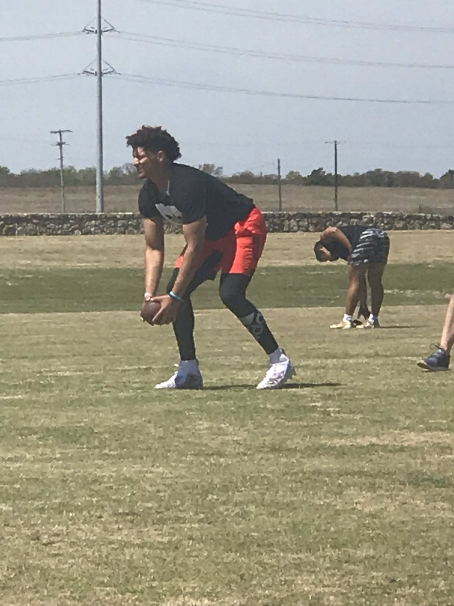 Look who stopped by the WestSide for a workout today!  @PatrickMahomes<br>http://pic.twitter.com/m5QGyZj0pY