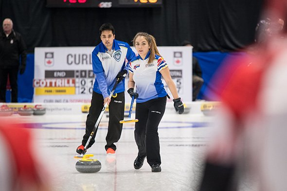 """Curling Canada on Twitter: """"Laura Walker and Kirk Muyres are one ..."""