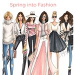 Image for the Tweet beginning: Spring Fashion Show at OLW
