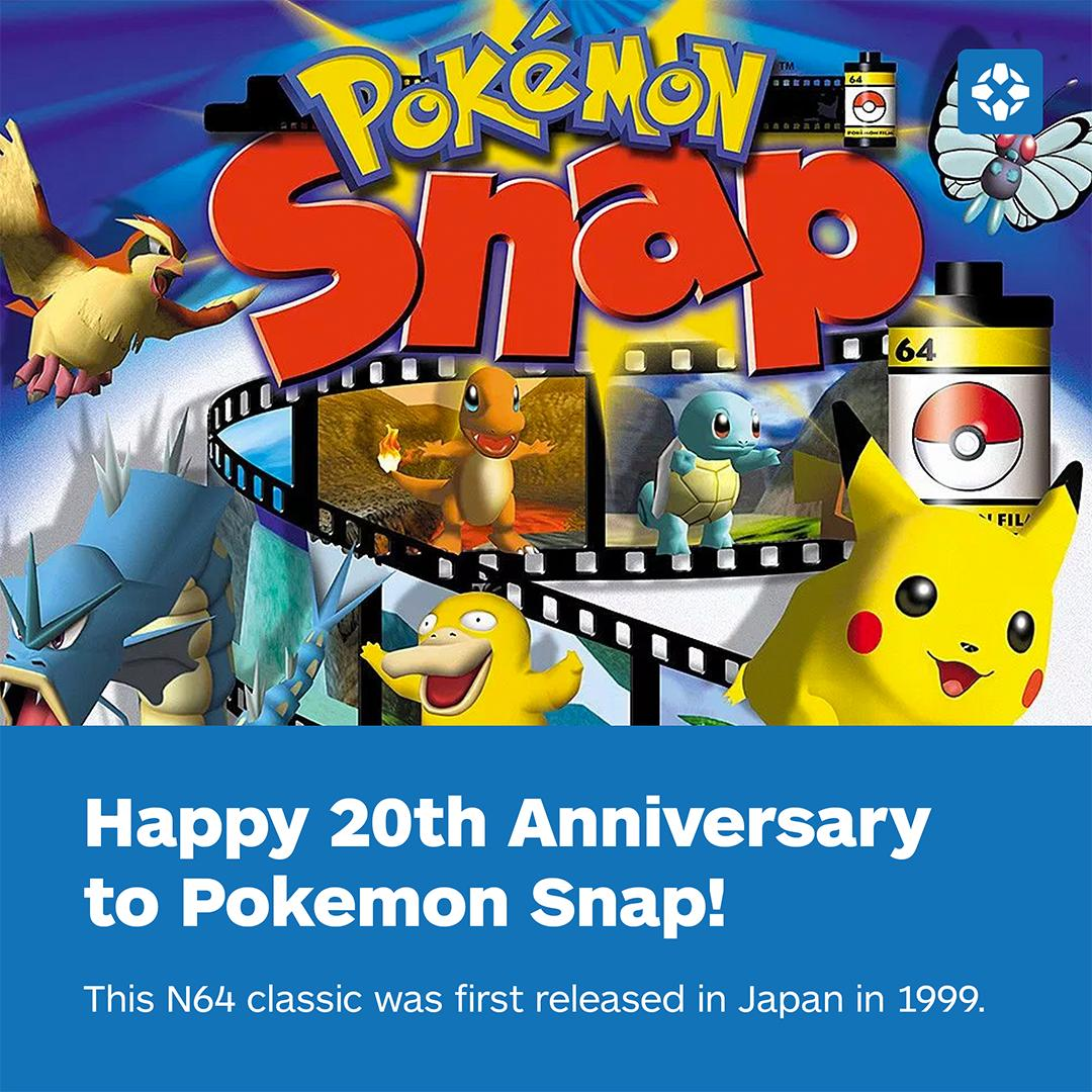 All these years later, we still really want a re-release of Pokemon Snap. �� https://t.co/tzSPvVyf5R