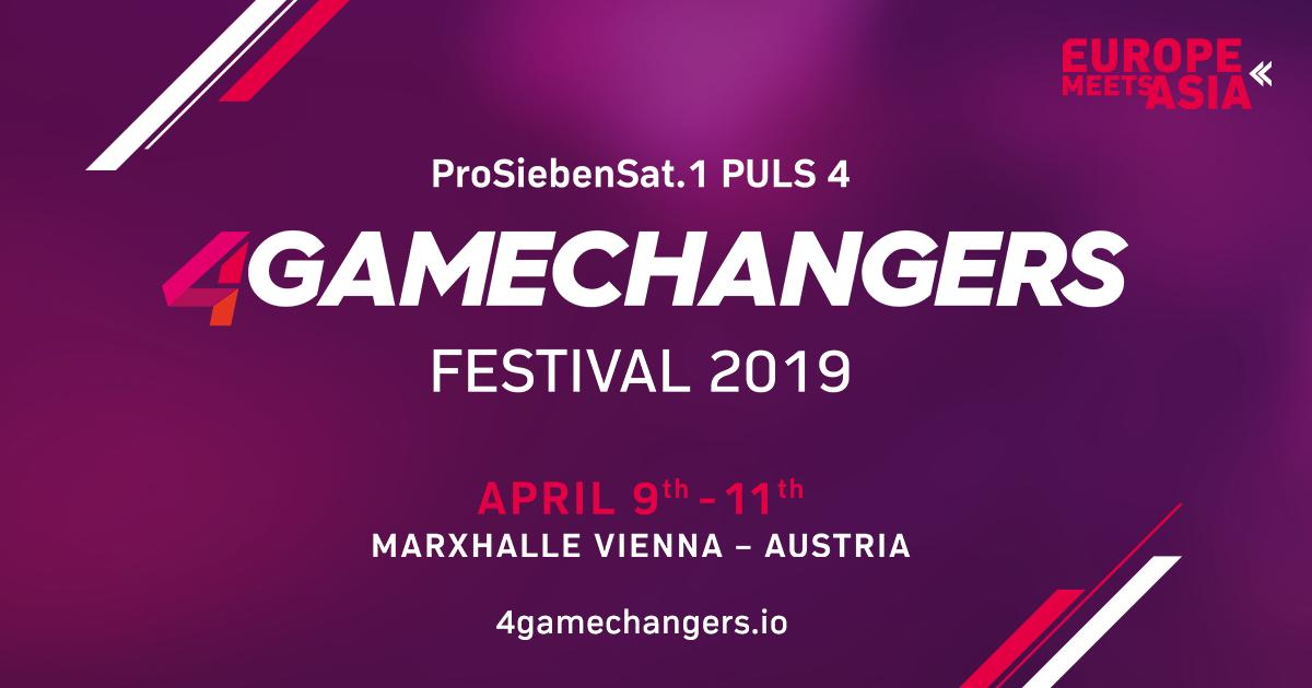Startups watch out! The 4GAMECHANGERS Festival 2019 offers you many opportunities to present your venture to 15.000 expected Gamechangers. For more info visit https://4gamechangers.io/be-part/  #4gamechangersfestival #changethegame #digitalconference