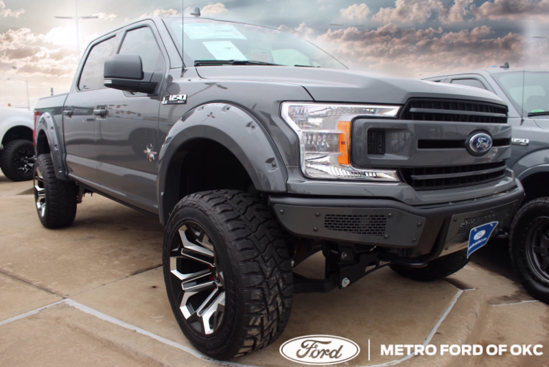 Get lifted at Metro Ford of OKC. 😎🔥🔥 #ford #okc #fordtrucks #americanmade #oklahoma #fordpreformance #blackwidow