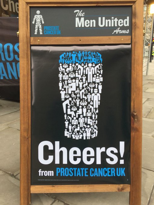 Image for This Sunday we're running in the @LLHalf for @ProstateUK  We're racing against @BeavertownBeer @Fullers @cwpubs @ErdingerAF_UK for the title of #FastestPint  We're accepting donations at @fourpuretaproom in the lead up to the race. So bring your gold coin
