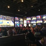 Watch the madness... feel the madness! There's no better place than DJ's Dugout Sports Bar!