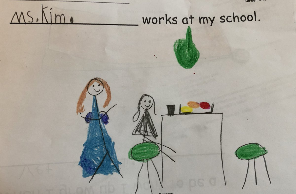 Kindergarteners learned about the many jobs people have at <a target='_blank' href='http://twitter.com/CampbellAPS'>@CampbellAPS</a>   Check out these beautifully detailed drawings of a few amazing members of the Campbell community! <a target='_blank' href='http://twitter.com/artwithmrskim'>@artwithmrskim</a> <a target='_blank' href='http://twitter.com/bibliobunny'>@bibliobunny</a> <a target='_blank' href='https://t.co/OJCPQqDgcg'>https://t.co/OJCPQqDgcg</a>
