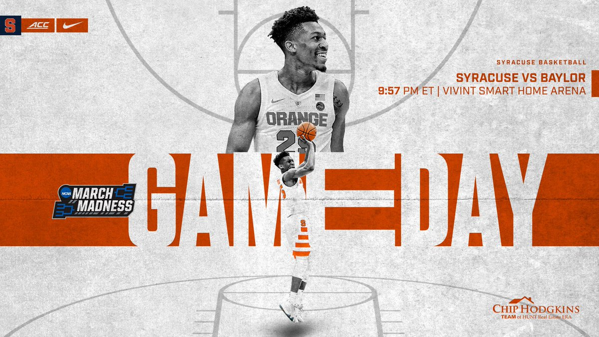 Game Day in Salt Lake City!  #MarchMadness 🍊