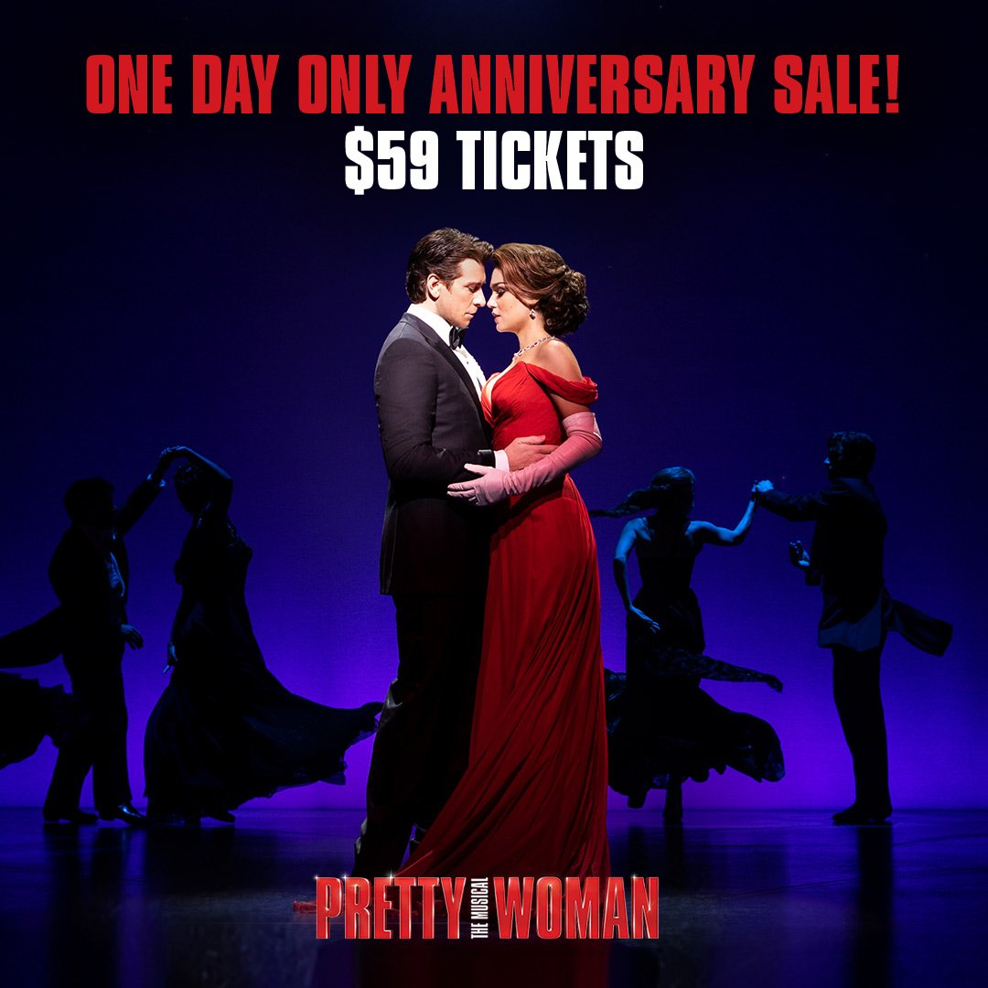 29 years ago, the film Pretty Woman stole hearts. Today, experience the story on #Broadway! Celebrate with us by using code FLASH2 at checkout:  http:// prettywomanthemusical.com  &nbsp;   #PrettyWomanTheMusical <br>http://pic.twitter.com/1NQvlpFGXM