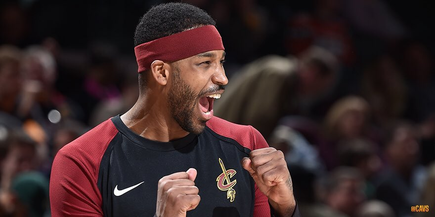 """""""The more he's shooting threes and teams have to respect it, it makes it easier for him to attack the rim…He's a gamer.""""   - @RealTristan13 on @CollinSexton02   #CavsBucks GALLERY: https://on.nba.com/2W8qIYG   #BeTheFight"""