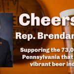 Image for the Tweet beginning: Thanks @RepBrendanBoyle for sponsoring the