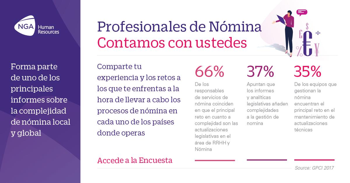 Profesionales de #Argentina #Colombia #Mexico #Chile y #Uruguay, ¿Quién tiene la nómina más compleja? Contanos tu opinión en una encuesta rápida y te enviaremos el reporte gratuito! https://buff.ly/2CewccW  #GPCI #ngahr #RRHH #Nomina