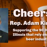 Image for the Tweet beginning: Thank you @RepKinzinger for sponsoring