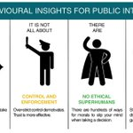 Image for the Tweet beginning: How can behavioural insights make
