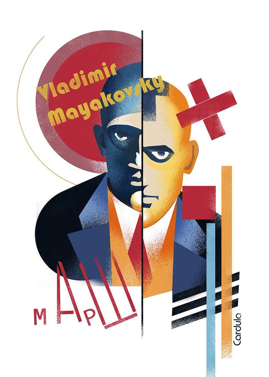 Денес #WorldPoetryDay! портрет на Vladimir Mayakovsky
