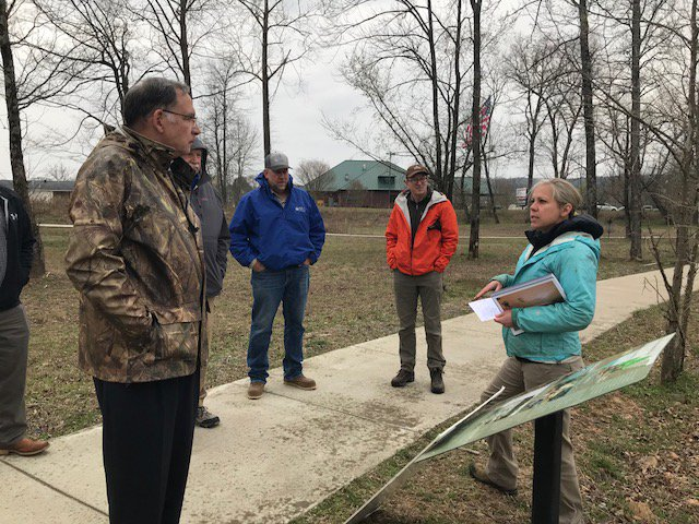 The Nature Conservancy in #Arkansas is working to protect our land & water. I'm committed to helping protect these natural resources. I had the opportunity to see the conservation projects along the upper Little Red River & hear how federal programs help protect Greers Ferry Lake