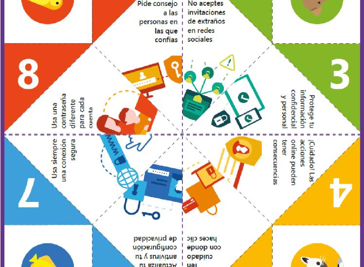 ¿Cómo explicarles a los #alumnos qué peligros tiene #Internet? ¿Qué #consejos hay que darles? @MicrosoftEduEsp les propone un #comecocos y una guía de #actividades para #el aula y #casa. #ciberseguridad ¡Mira! https://www.educaciontrespuntocero.com/noticias/utilizar-internet-forma-segura-comecocos-actividades/101949.html…