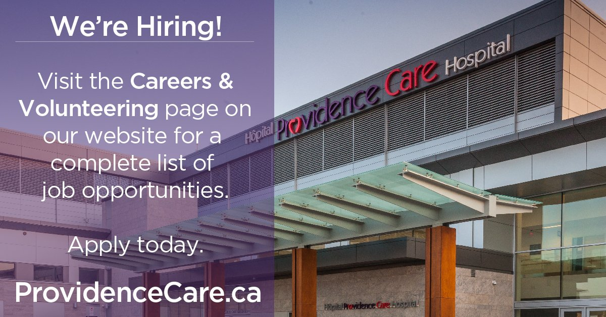 test Twitter Media - Career Alert! Providence Care has an opening for a Safety Specialist with our Occupational Health, Safety & Wellness team. Interested? Learn more and apply today: https://t.co/3sJqxLhLbL #ygk #hiring #careers #morethanhealthcare https://t.co/0xXV8vstpe