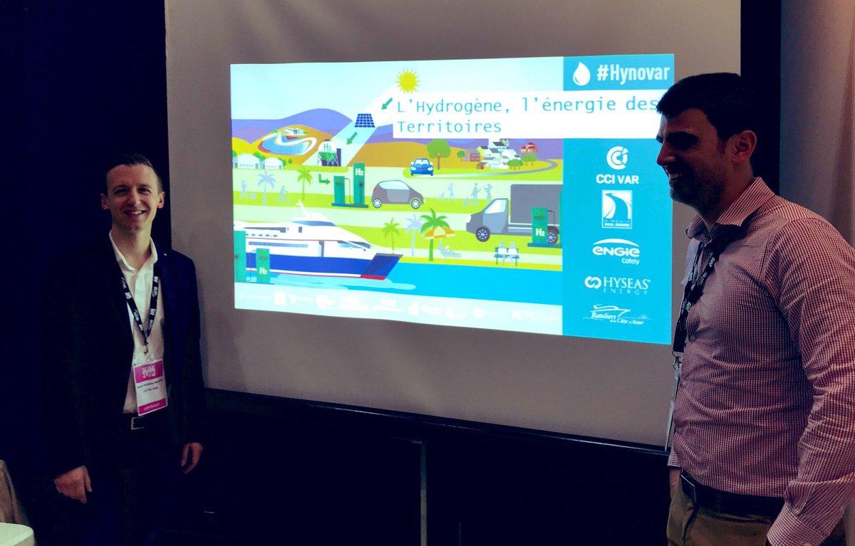 L'hydrogène : opportunités de développement pour les acteurs économiques. En direct depuis la conférence #H2, énergie des territoires organisée pendant @varup83. Avec #CCI #Var et @Capenergies #Hynovar