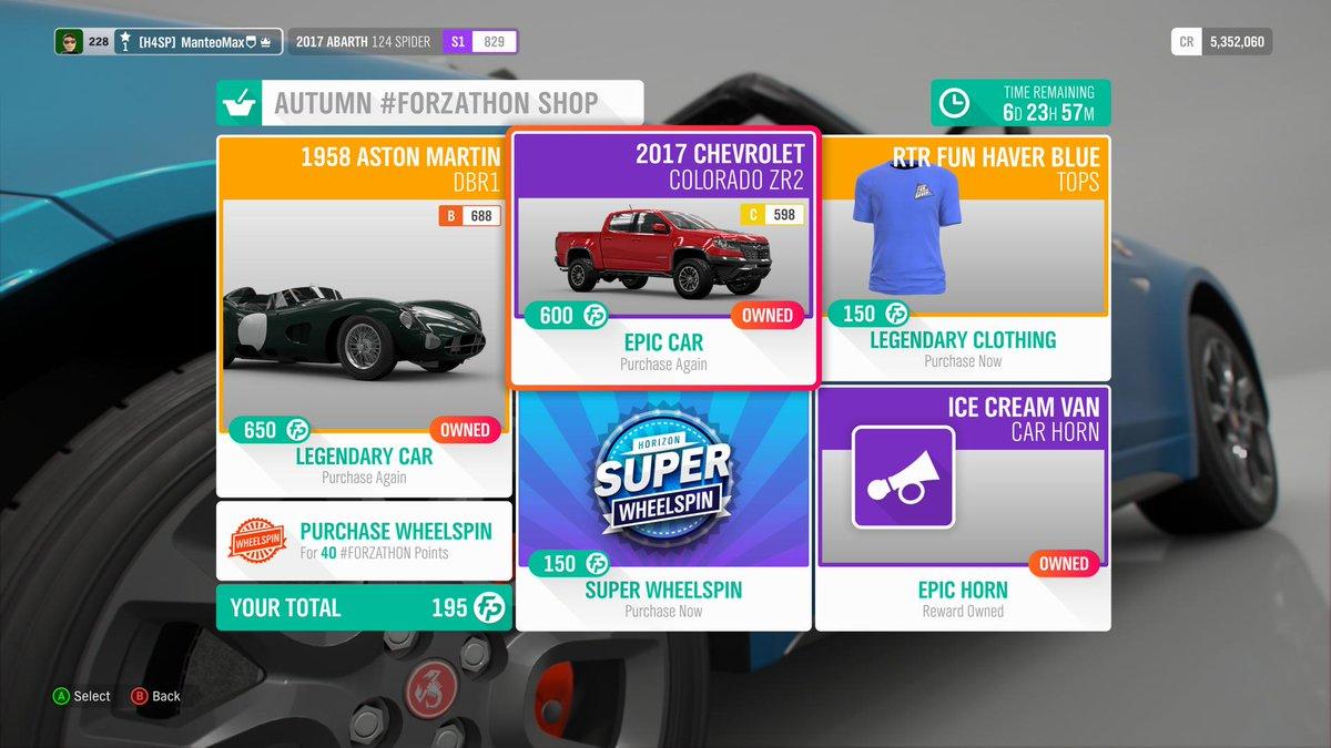 Autumn Forzathon Shop Festival Playlist Events And Rewards Through March 28 Forza Horizon 4 Discussion Forza Motorsport Forums