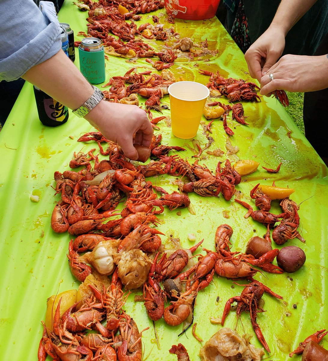 Cheers to crawfish and craft beer!