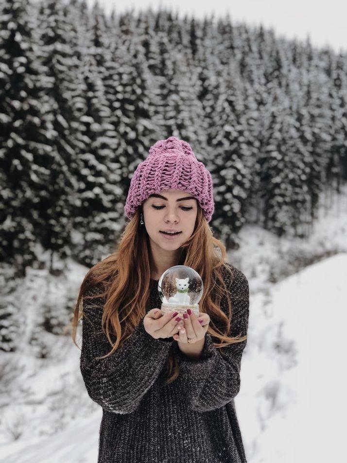 идеи для фотосессии в домашних условиях зима все