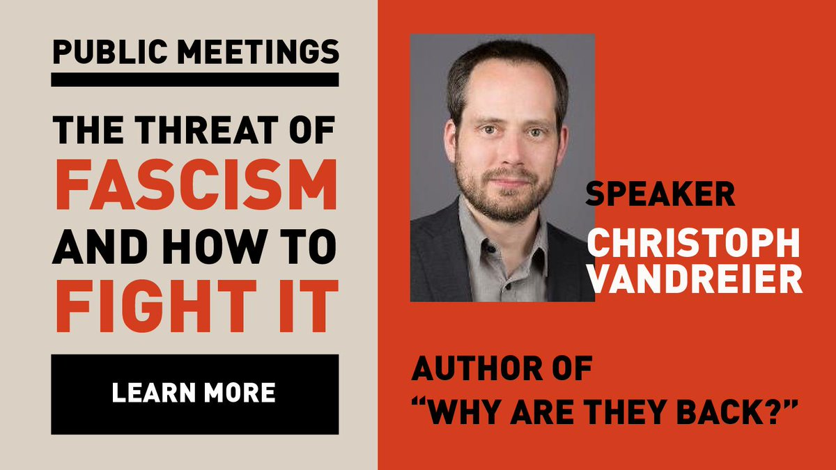 "d726e0913c75f The WSWS needs your financial help to make its upcoming meeting series  featuring Christoph Vandreier ""The threat of fascism and how to fight it.""  a success."