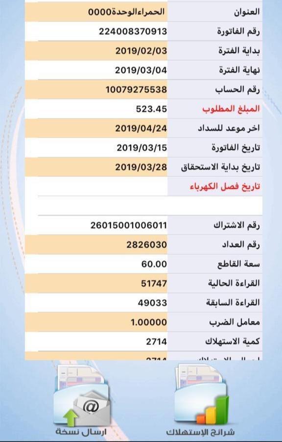 ⛔️⛔️حالة رقم ( 193 ) أسرة متعففة داخل نطاق الفريق بحاجة لسداد فاتورة الكهرباء. للتواصل:0559119147–0546221128