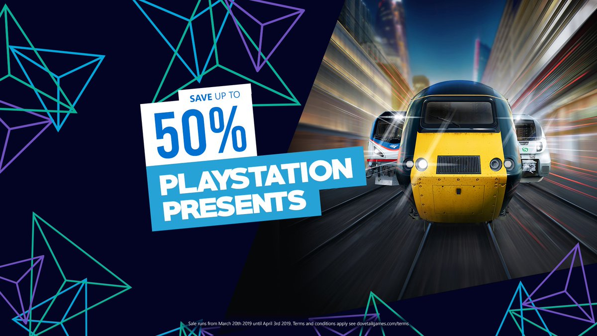 From industrial Ruhr-Sieg Nord to the sunny West Somerset Railway, discover the range of great deals on Train Sim World - on sale at @PlayStationEU  Explore now 👉 http://bit.ly/PSPresentsTrainSim…