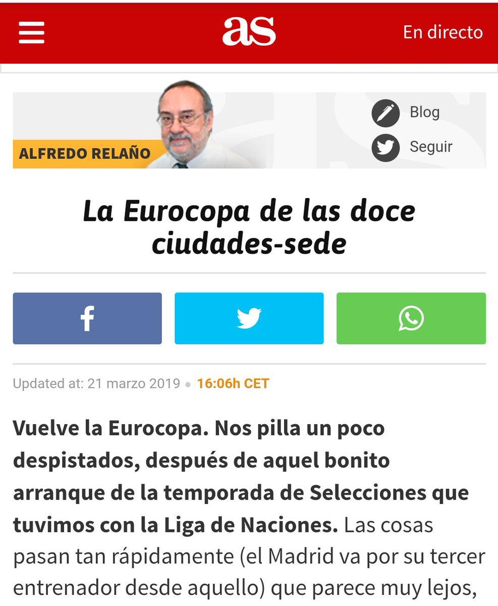 Hable de lo que hable siempre palo para el Madrid