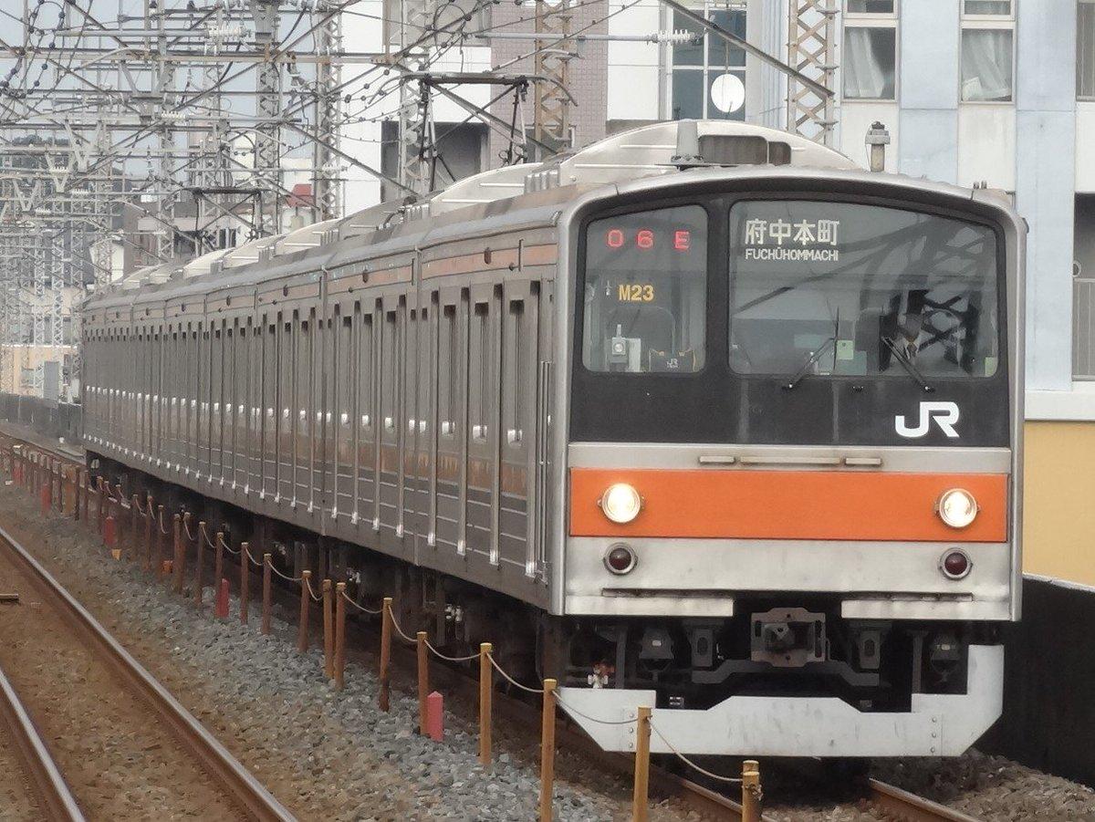 #武蔵野線 https://t.co/Q9VBNFf5j9