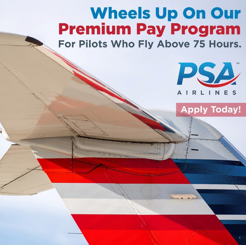 PSA Airlines on Twitter: