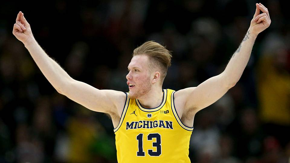 Michigan forward Ignas Brazdeikis has been exceeding expectations ever since he arrived on campus.   Now the freshman is a key contributor for one of the strongest teams in the NCAA Tournament.  From @tsnmike: http://bit.ly/2TpZ33M