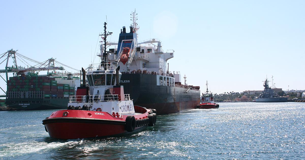 Crowley Maritime On Twitter Crowley S Strong Nimble Tugs Admiral And Leader Safely Assist Large Petroleum Tank Vessels At The Port Of La Long Beach With Voith Schneider Cycloidal Propulsion These Tugs Can Turn On