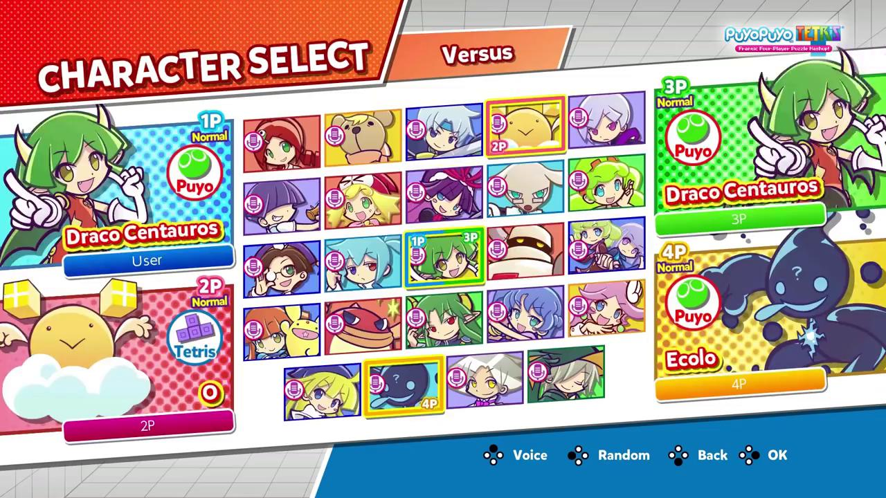 With 24 characters to choose from, who is your go-to in Puyo Puyo Tetris?  https://t.co/JfbaC16UWJ https://t.co/5cezwoyMB9