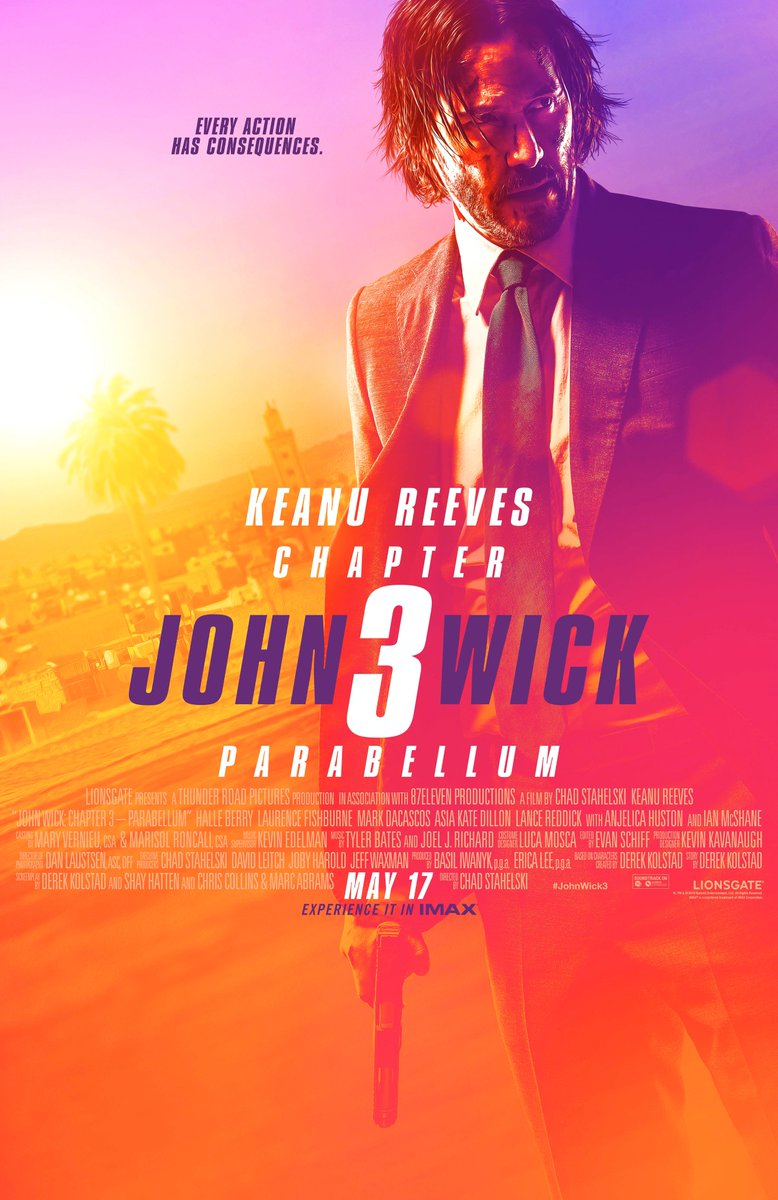 Let it begin. #JohnWick3